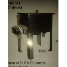 Topitor electric pentru ceara din inox pentru 5 rame